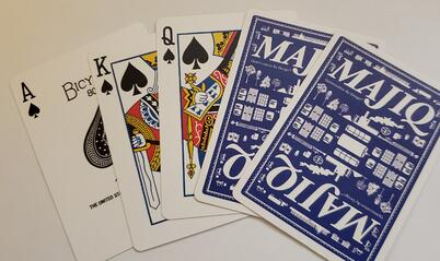 deck of MAJIQ cards