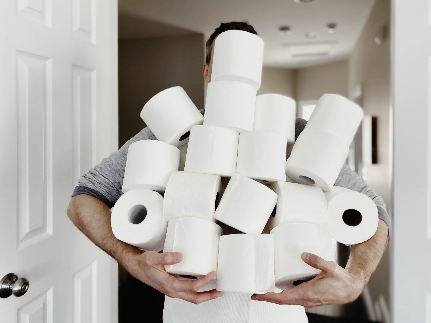 Why so hard to find toilet paper during the COVID-19 pandemic